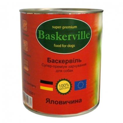Baskerville вологий корм з яловичиною для дорослих собак