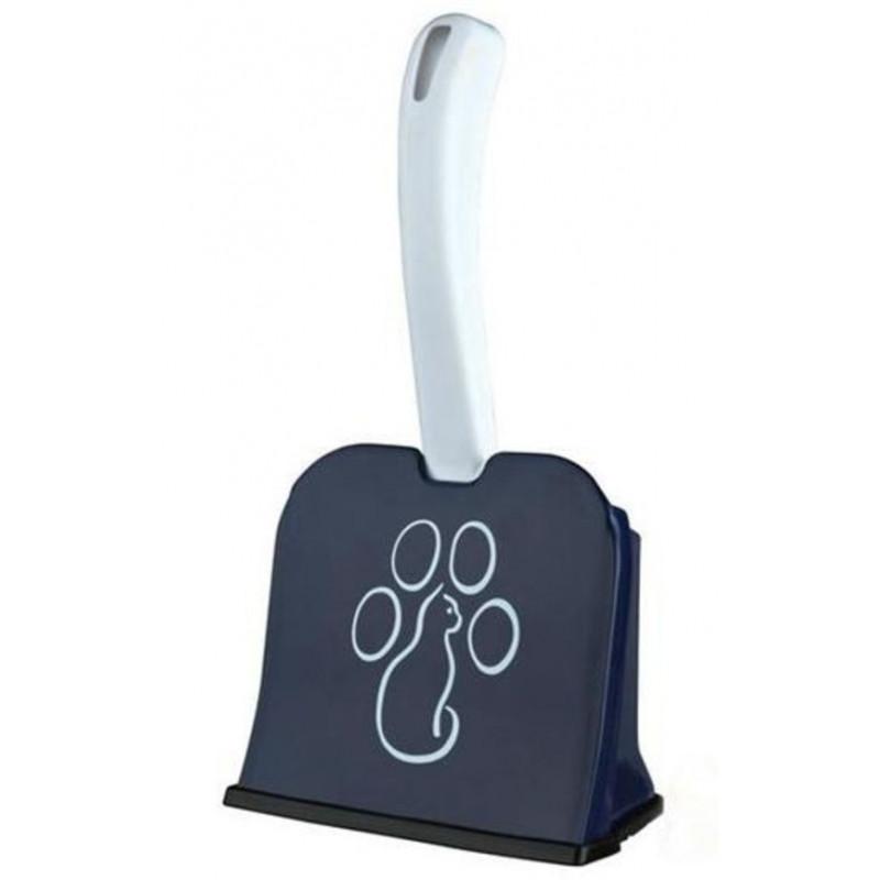TRIXIE лопатка для котячого туалету з підставкою