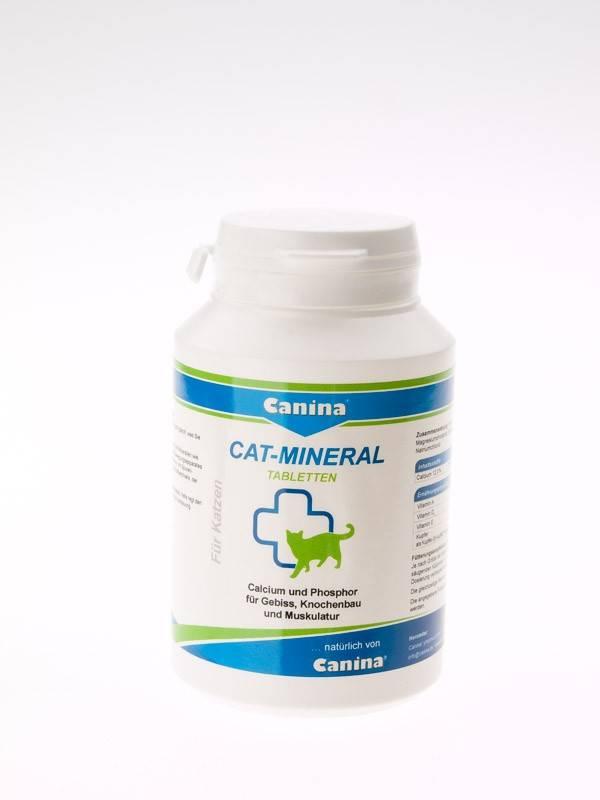 Canina Cat Mineral Tabletten – минерально-витаминная добавка для котов всех возрастов