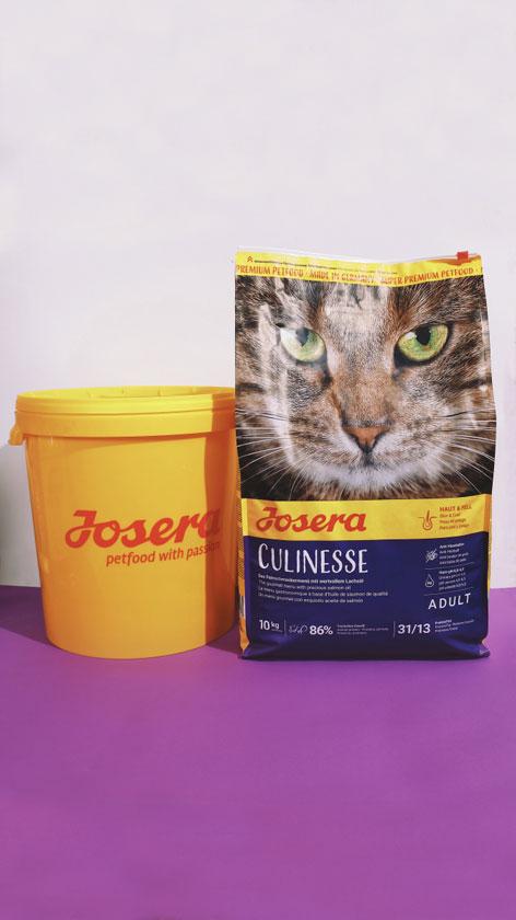 JOSERA CULINESSE –сухой корм с лососем для взрослых кошек