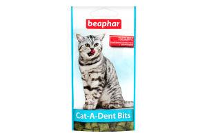 Beaphar Cat-A-Dent Bits – подушечки для чищення зубів для котів