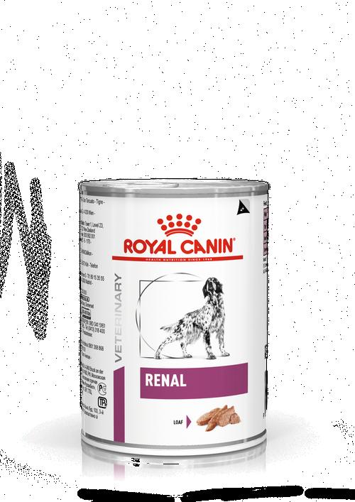 ROYAL CANIN RENAL – лікувальний вологий корм для собак з хронічною нирковою недостатністю