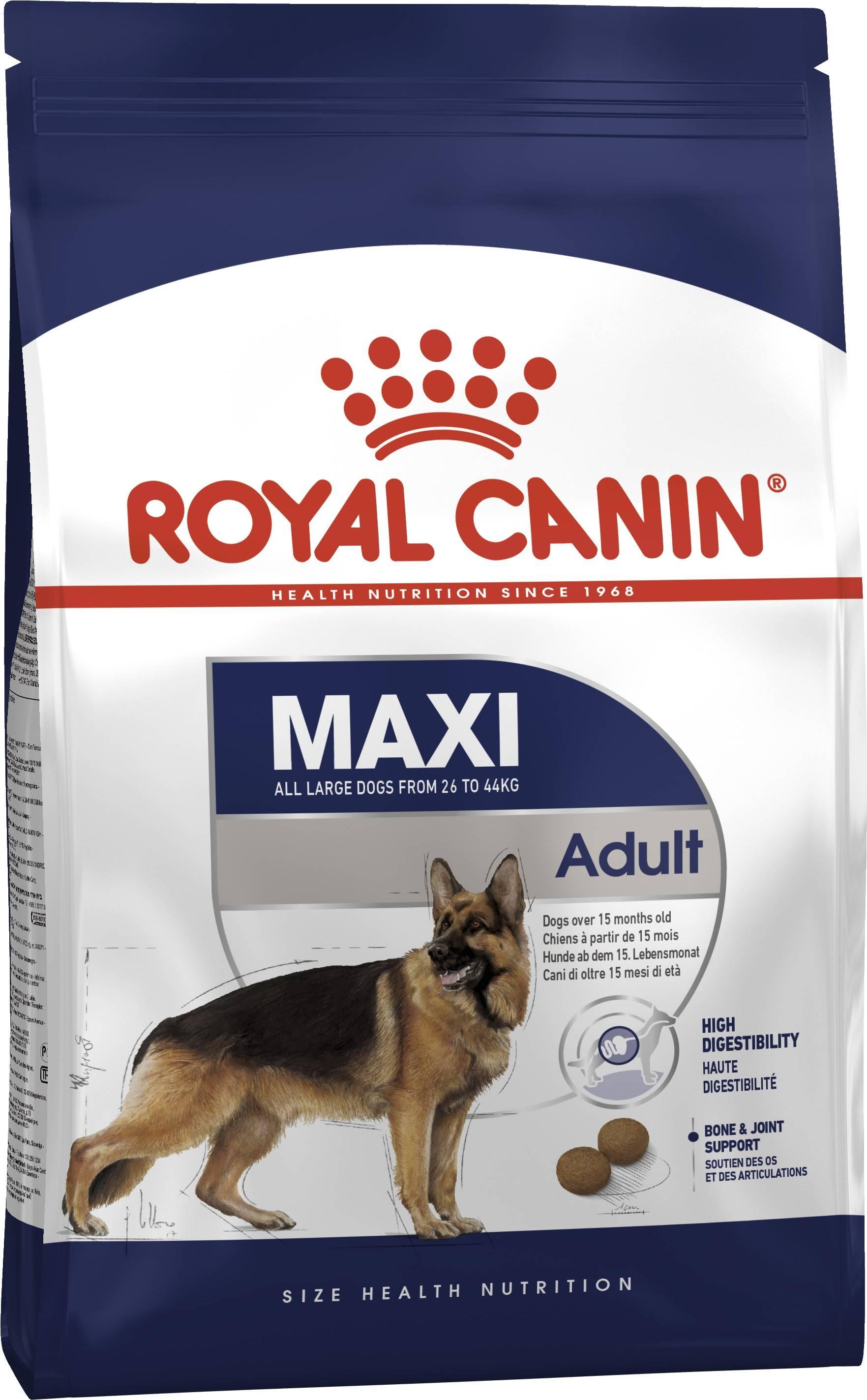 ROYAL CANIN MAXI ADULT – сухой корм для взрослых собак больших пород