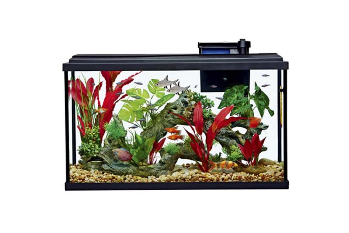 Resun STH – аквариум с фильтром и освещением