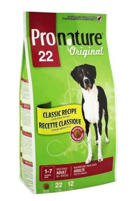 PRONATURE ORIGINAL ADULT LARGE BREED LAMB AND RICE – сухой корм с ягненком и рисом для собак больших пород