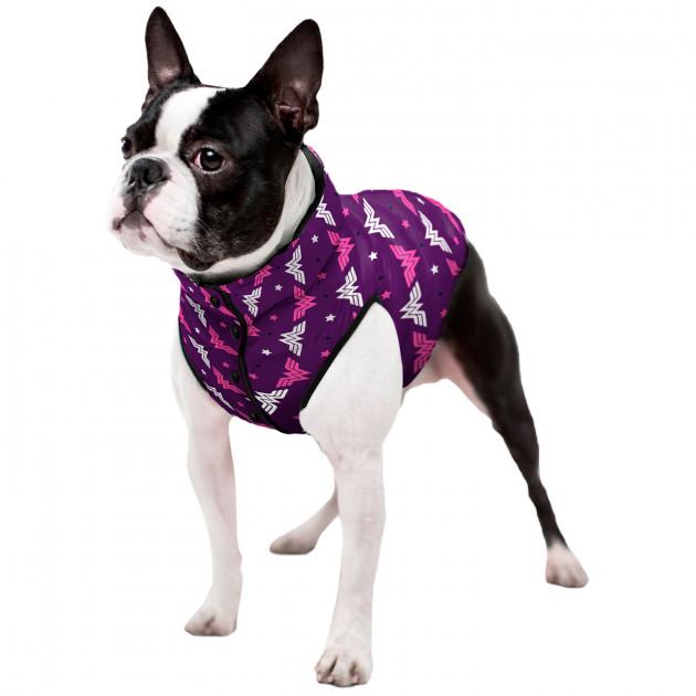 "Курточка WAUDOG з малюнком ""WW violet"""