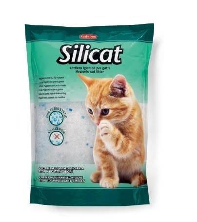 Padovan Silicat – наполнитель для кошачьих туалетов