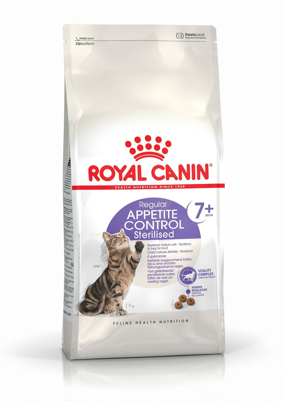 ROYAL CANIN APPETITE CONTROL STERILISED 7+ – сухой корм для котов старше 7 лет