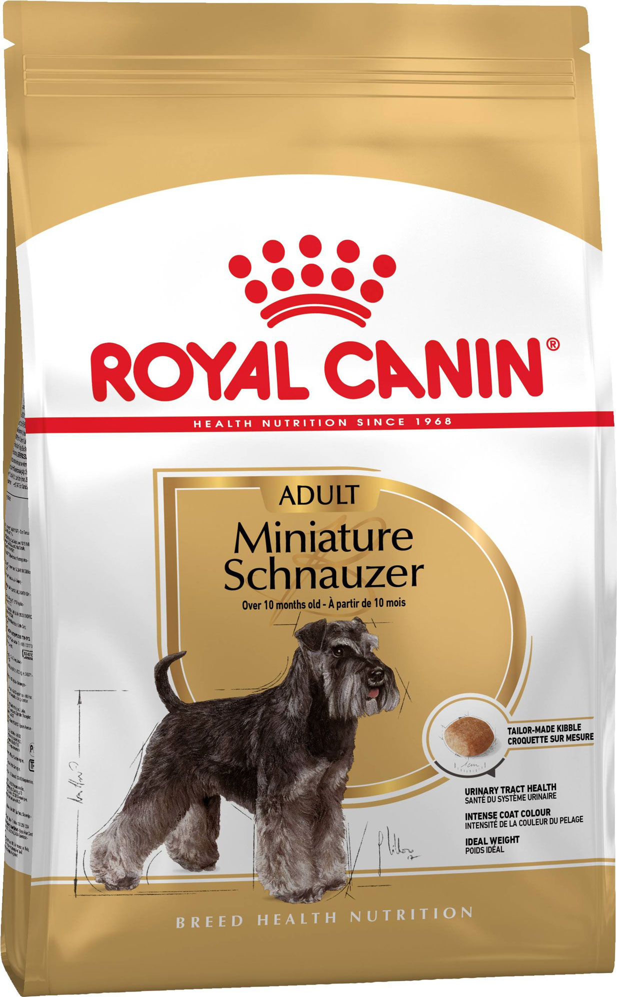 ROYAL CANIN MINIATURE SCHNAUZER ADULT – сухий корм для дорослих собак породи цвегшнауцер