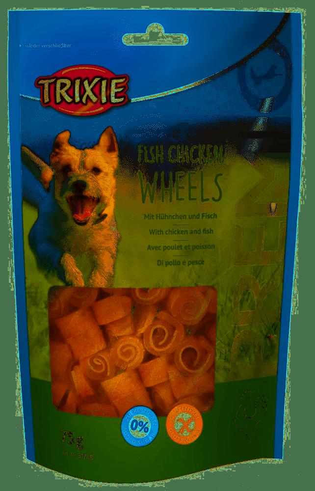 Trixie Premio Fish Chicken Wheels – лакомства для собак с курицей и рыбой для собак