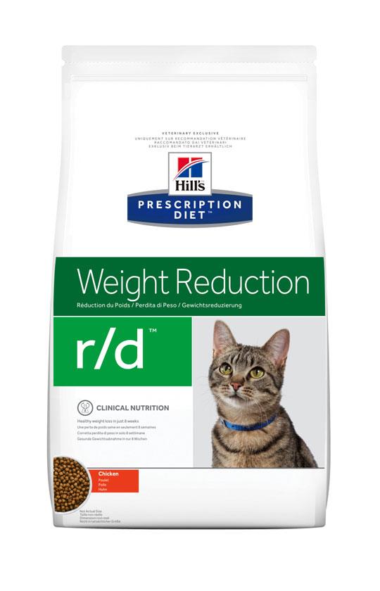 HILL'S PRESCRIPTION DIET R/D WEIGHT REDUCTION – лечебный сухой корм для котов для снижения избыточного веса