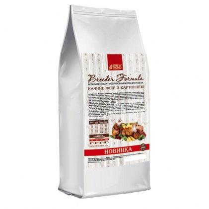 Home Food с уткой и картофелем беззерновий сухой корм для взрослых собак малых пород
