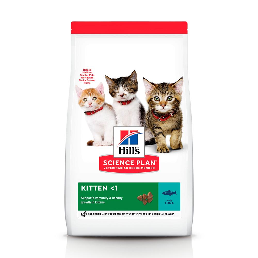 HILL'S SCIENCE PLAN KITTEN сухой корм с тунцом для котят