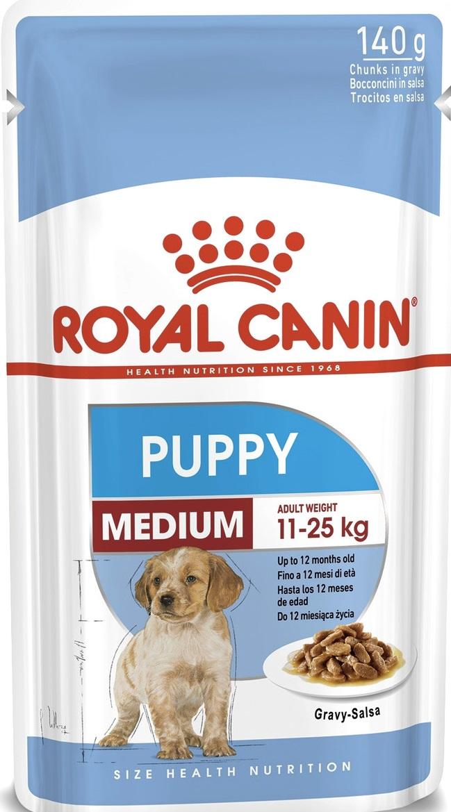 ROYAL CANIN MEDIUM PUPPY – вологий корм для цуценят середніх порід