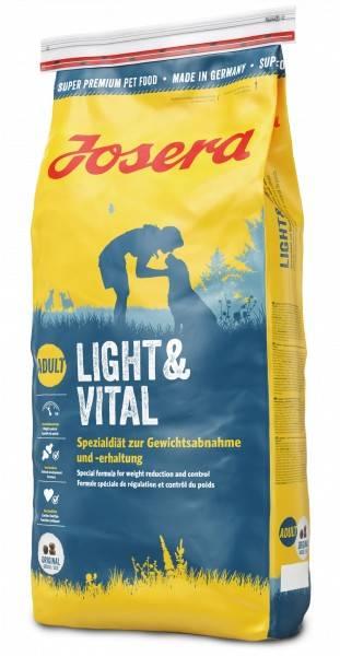 JOSERA LIGHT & VITAL – дієтичний сухий корм для собак