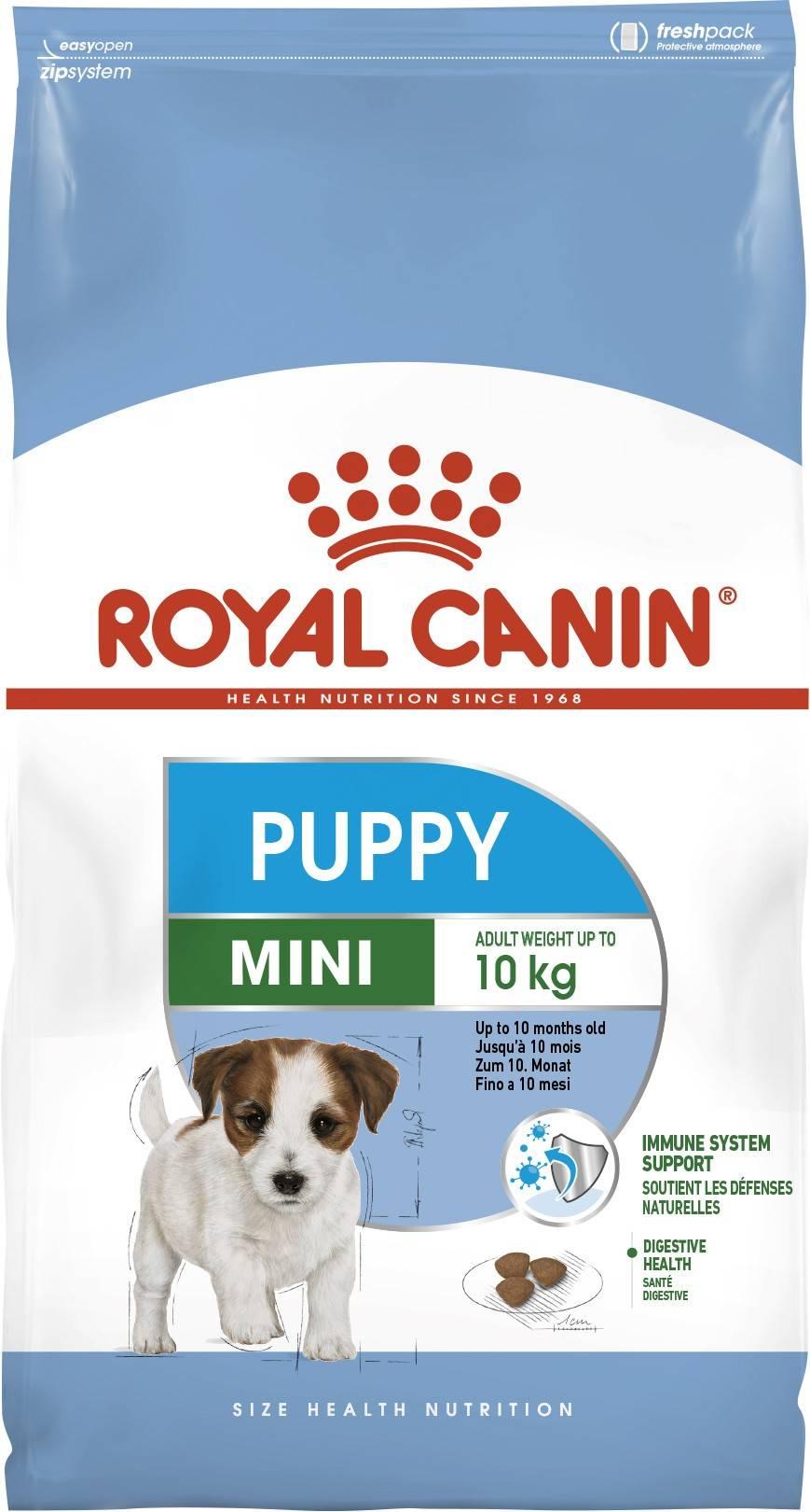 ROYAL CANIN MINI PUPPY – сухий корм для цуценят маленких порід