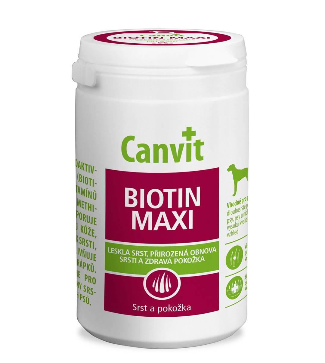 CANVIT  BIOTIN MAXI  – мультивітамінний комплекс з біотином для собак великих порід
