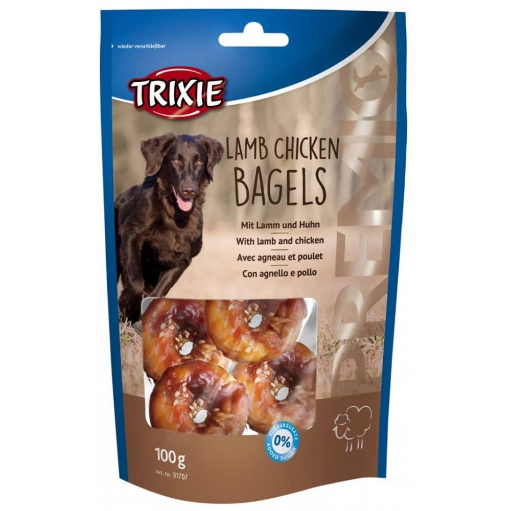 Trixie Premio Lamb Chicken Bagel –  лакомства с ягненком и курицей для собак