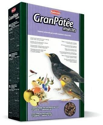 Padovan Granpatee Insectes – корм для насекомоядных птиц