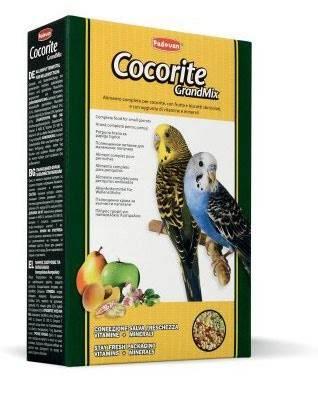 Padovan GandrMix Сocorite – корм для маленьких попугаев