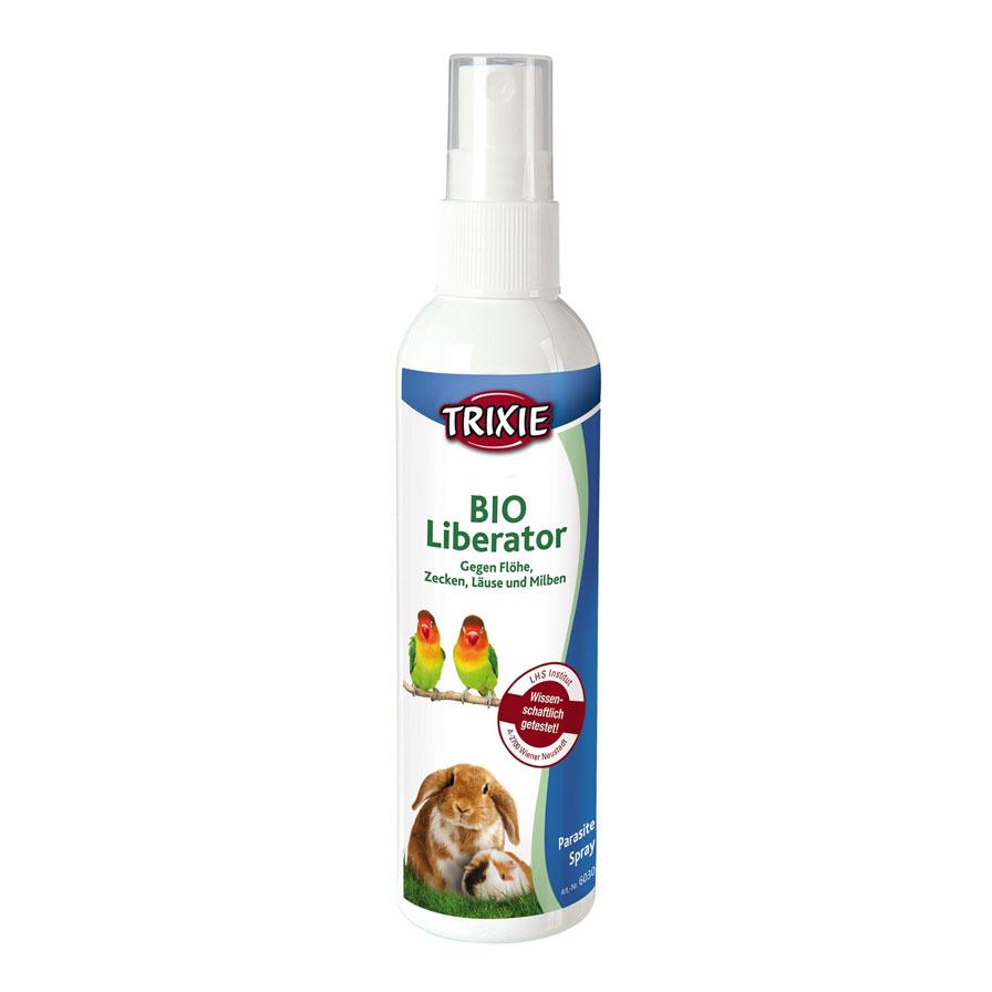 Trixie BioLiberat – спрей для захисту птахів і дрібних тварин від бліх і кліщів