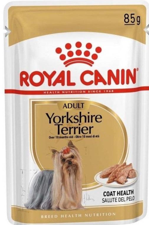 ROYAL CANIN YORKSHIRE TERRIER ADULT – вологий корм для дорослих собак породи йоркширський тер'єр