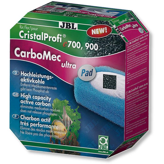 JBL CarboMec ultra Pad CristalProfi е700-1, 900-1 – фільтруючий матеріал з активованим вугіллям для фільтра CristalProfi е