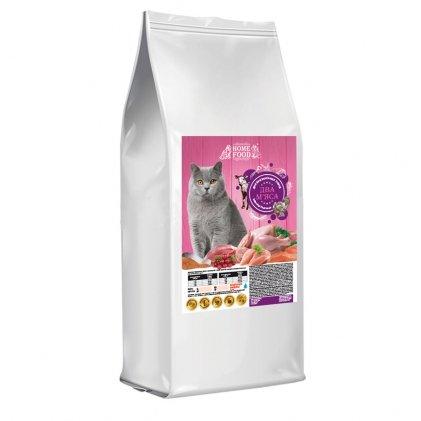 Home Food з індичкою і телятиною –  сухий корм для котів британської породи