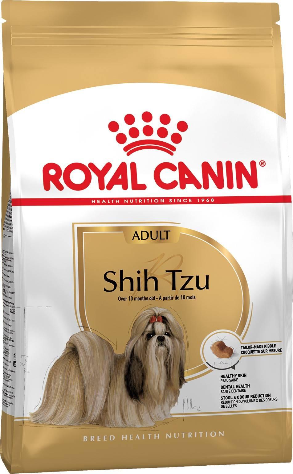 ROYAL CANIN SHIH TZU ADULT – сухой корм для взрослых собак породы ши-тцу