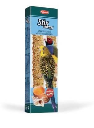Padovan Stix energy  cocorite/esotici  – лакомство для волнистых попугаев и маленьких экзотических птиц