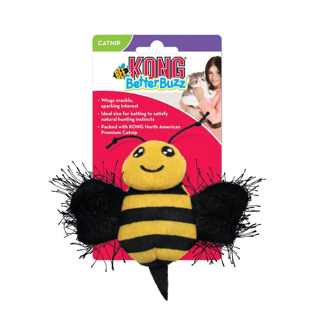 Kong Better Buzz игрушка плюшевая для кошек
