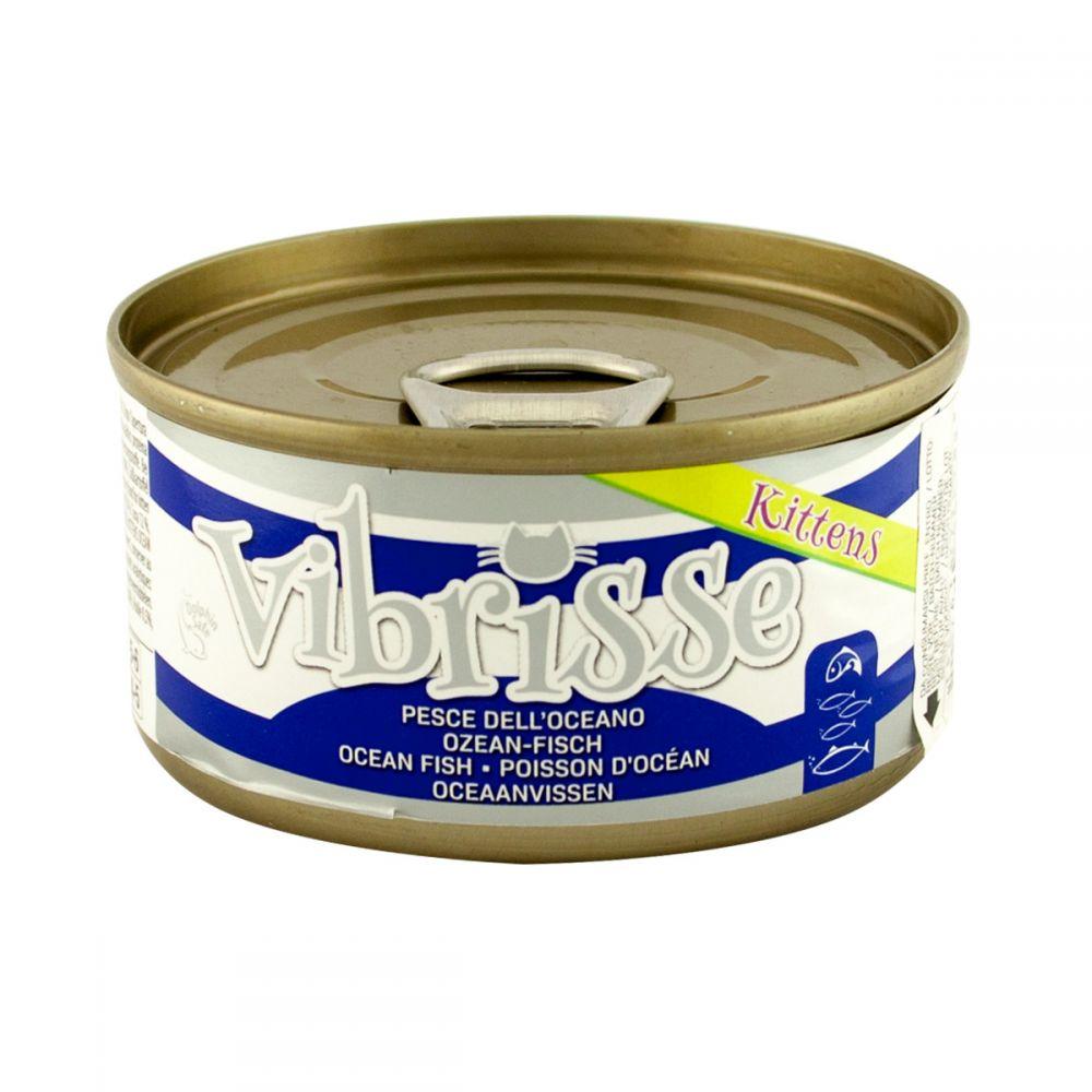Vibrisse Kitten – консерви з океанічної рибою для кошенят