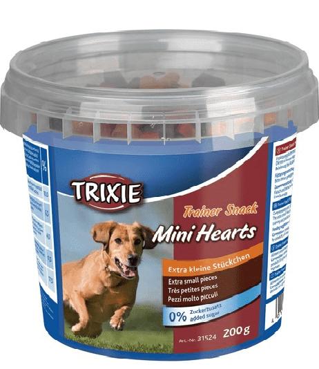 Trixie Trainer Snack Mini Hearts –ласощі з куркою, лососем і ягням для собак дрібних порід