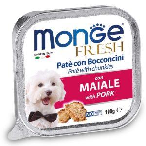 Monge Fresh Pork – консерви зі свининою для собак