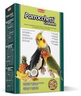 Padovan GrandMix Parrocchetti – корм для средних попугаев