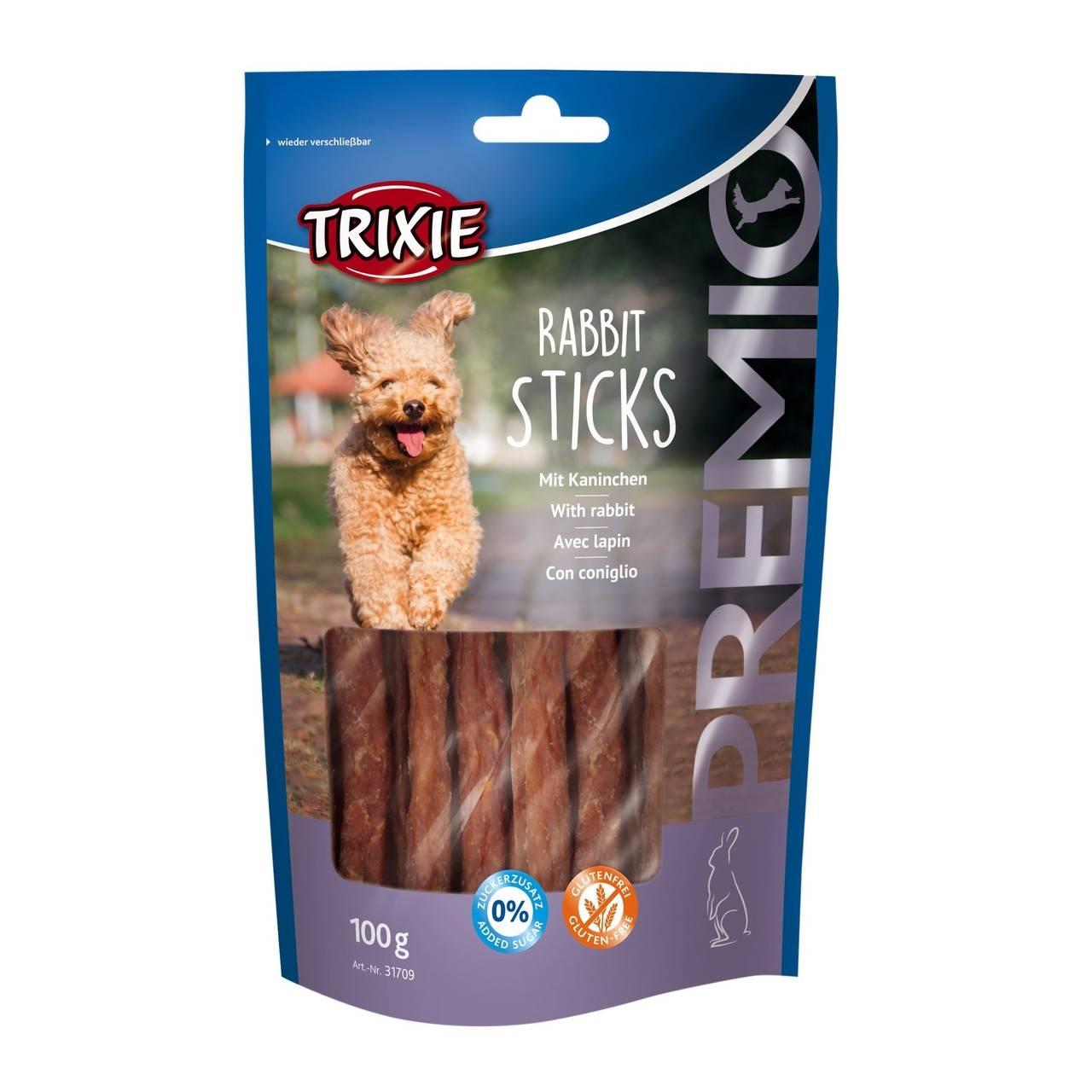 Trixie Premio Rabbit Sticks – лакомство с кроликом для собак