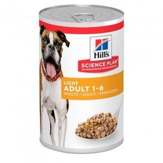 Hill's Science Diet Adult Light with Liver Dog Food – вологий корм з печінкою для контролю ваги у собак