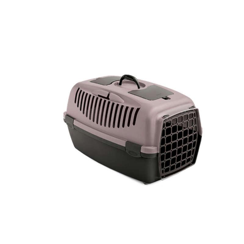 Stefanplast Gulliver 2 переноска з пластиковими дверима для собак і кішок вагою до 8 кг, 55×36×35 см