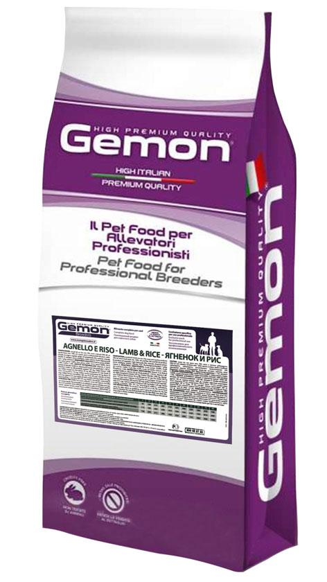 Gemon Adult Lamb & Rice – сухой корм с ягненком и рисом для взрослых собак всех пород