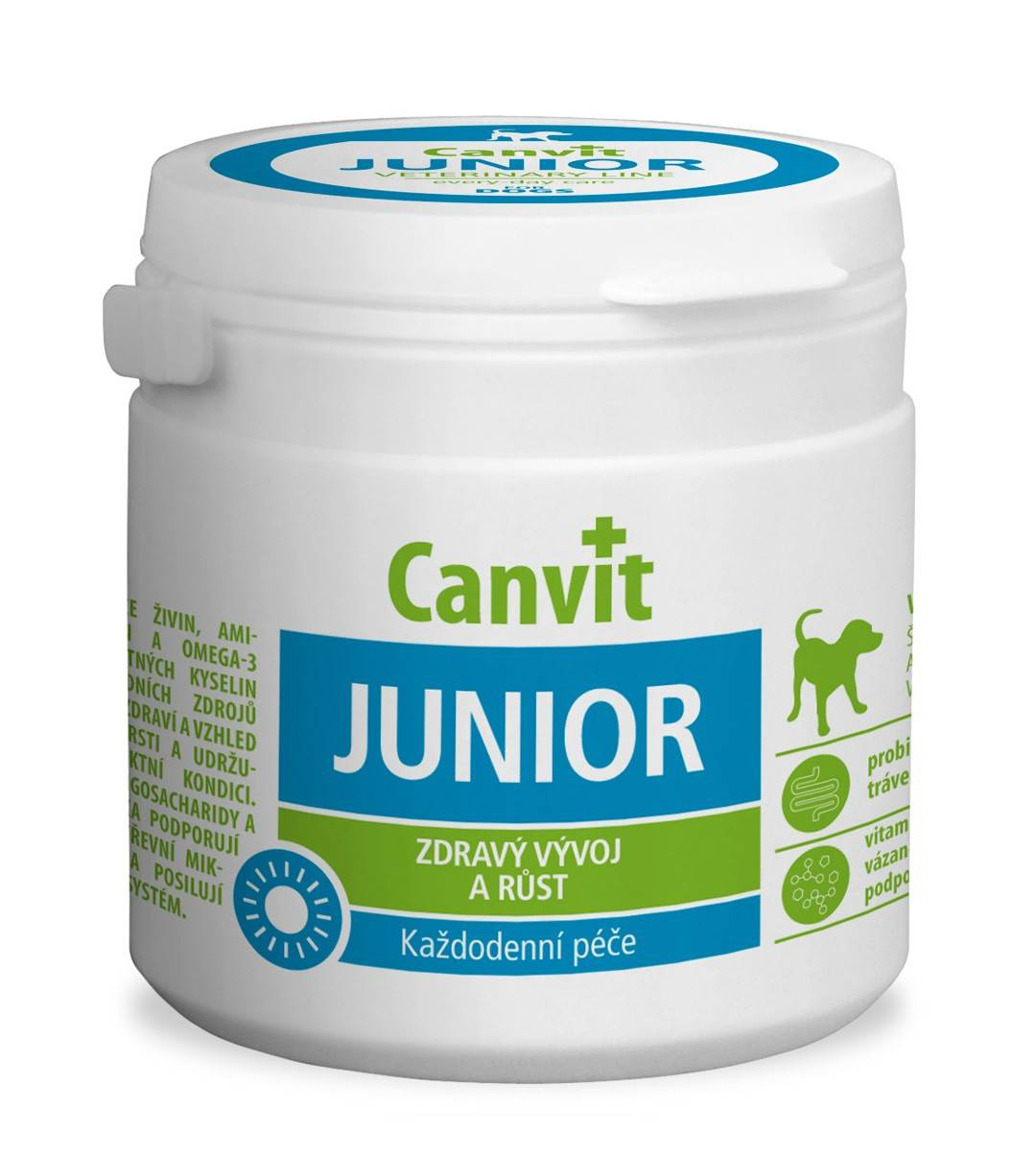 CANVIT JUNIOR – витаминный комплекс для щенков и молодых собак