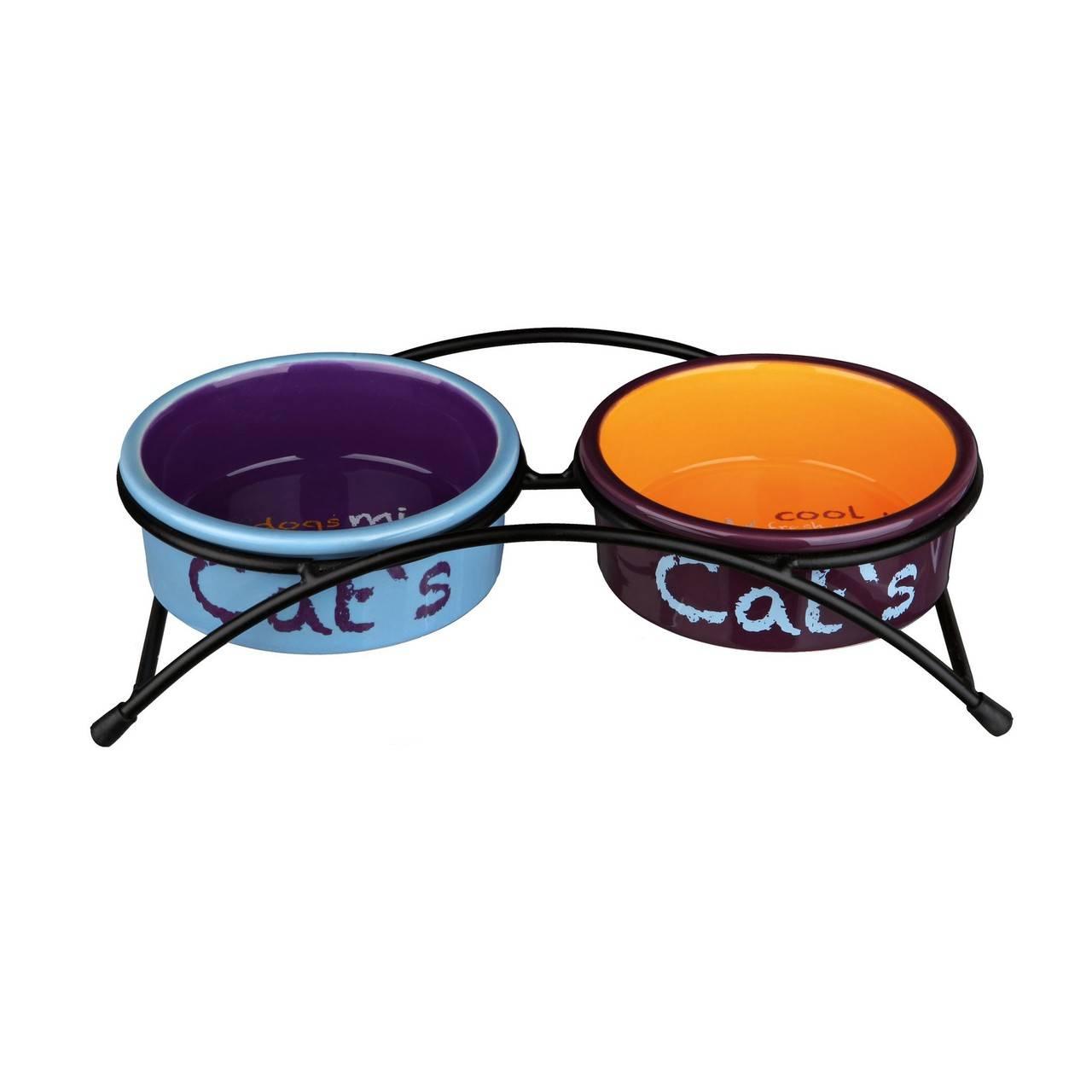 Trixie Eat on Feet – керамические миски для котов на подставке