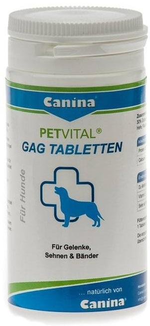 Canina Petvital GAG Tabletten – кормова добавка з глюкозаміном для собак