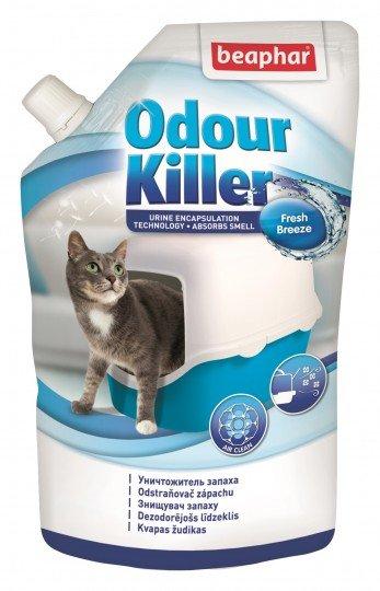 Beaphar Odour Killer for Cats – біологічний ліквідатор запаху для котячих туалетів