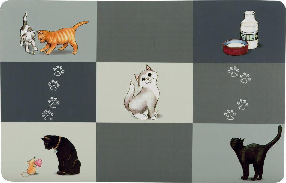 Trixie Patchwork – коврик под миску для котов