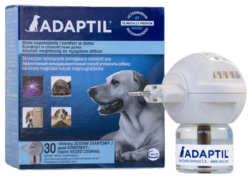 Adaptil диффузор (+ флакон) с феромонами для собак и щенков