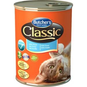 Butcher's Cat Classic– консерва з фореллю для дорослих котів