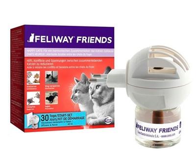 Feliway Friends диффузор (+ флакон) с феромонами для котов