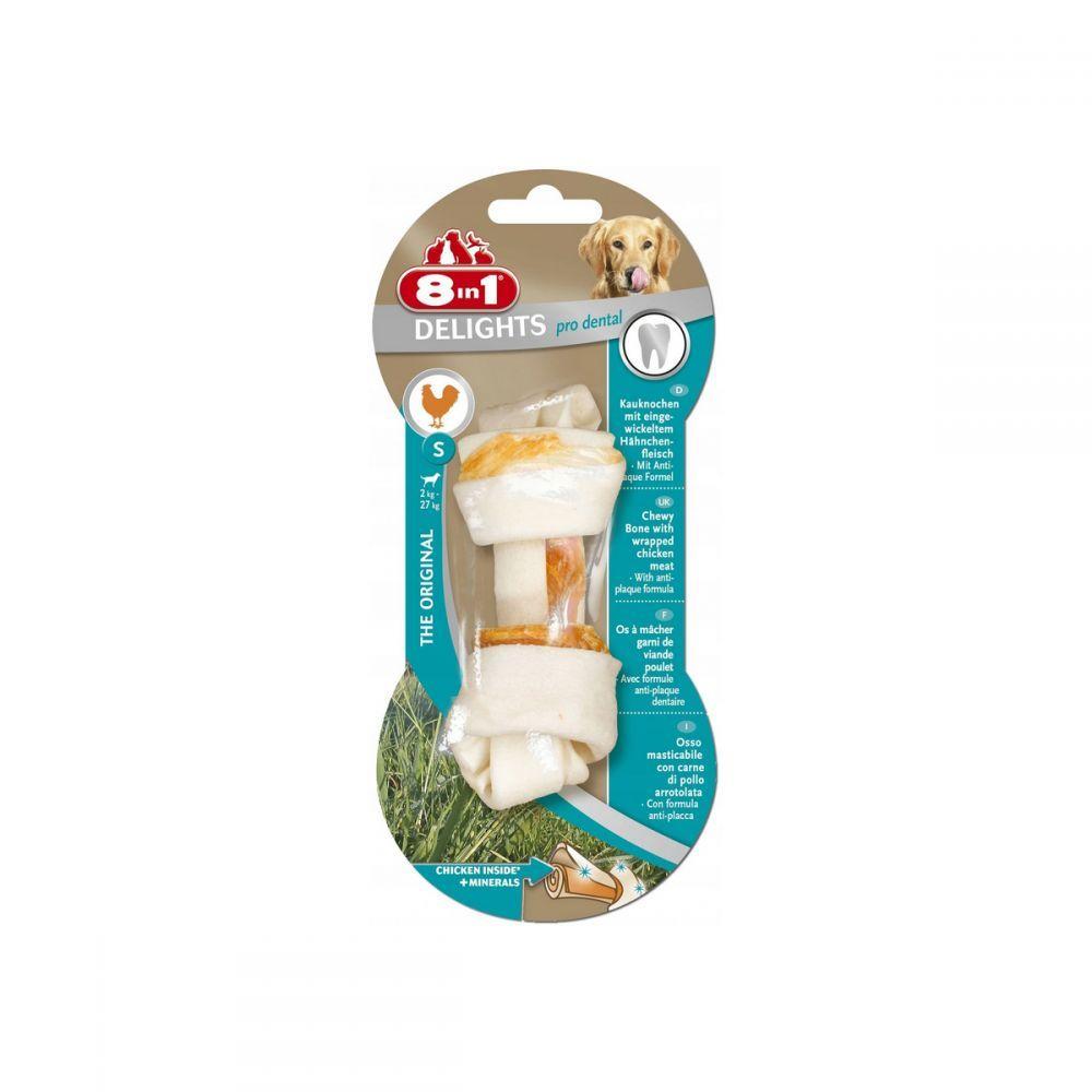8in1 Delights Pro Dental – прессованная кость с узлами для чистки зубов