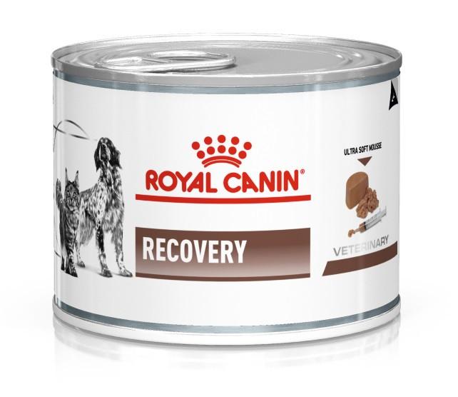 ROYAL CANIN  RECOVERY – лечебный влажный корм для собак и кошек при анорексии или в период восстановления после болезни