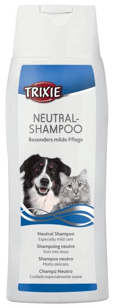 Trixie нейтральный шампунь для котов и собак